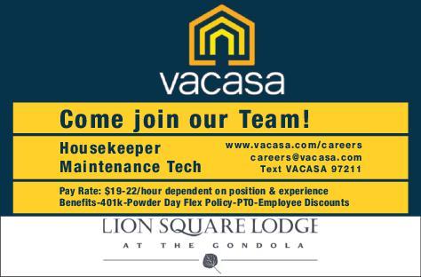 Housekeeper, Maintenance Tech - Vacasa Lion Square Lodge