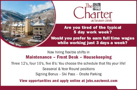 Various Positions - The Charter at Beaver Creek