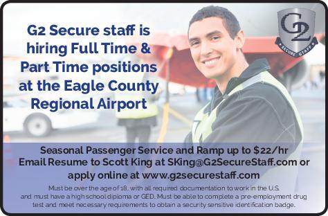 Seasonal Passenger Service & Ramp Agents - G2 Secure Staff