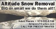 Service Directory   Snow Removal