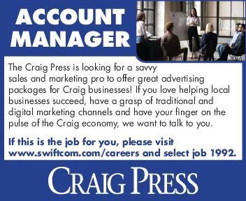 Account Manager - Craig Press