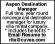 Aspen Destination Manager - CUVEE