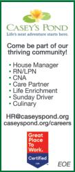 Come be part of our thriving community!  - Casey's Pond