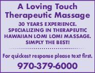 Service Directory | Massage Therapy