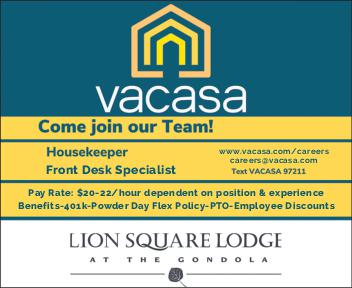 Housekeeper -  Front Desk Specialist - - VACASA Lion Sqare Lodge
